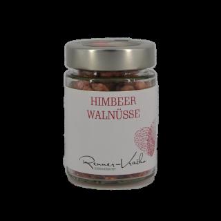 Himbeer-Walnüsse